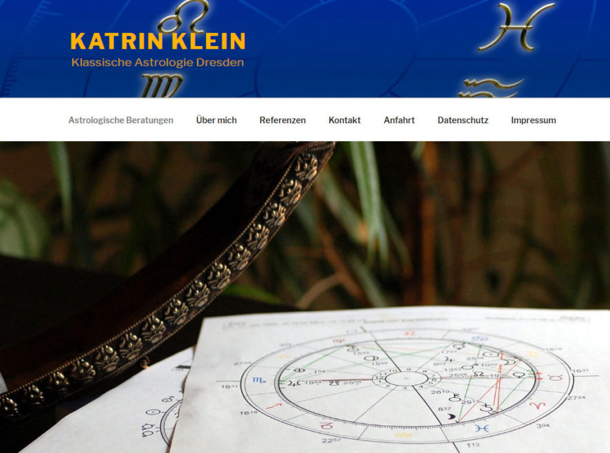 Referenz Astrologin
