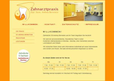 Referenz Zahnarztpraxis
